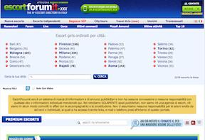 Escort Forum It (VI)